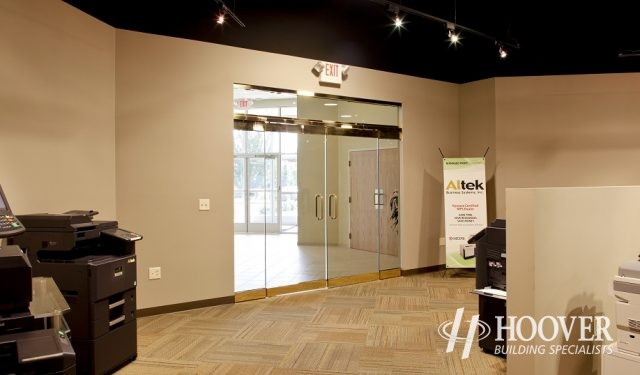 Altek Business Systems Glass Doors