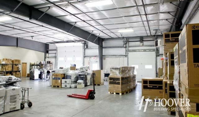 Altek Business Systems Warehouse Interior