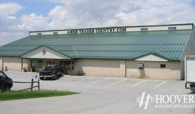 Amish Trader Distribution Metal Buildings
