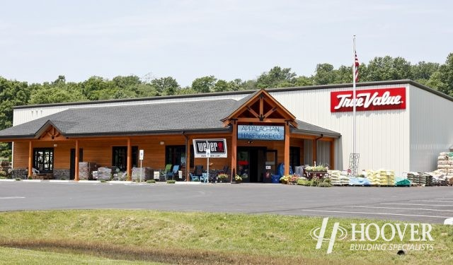 Appalachian Hardware Parking Lot