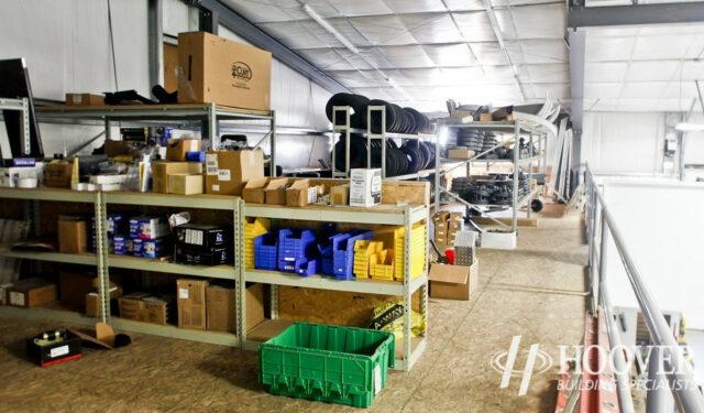 Burkholder Manufacturing Interior
