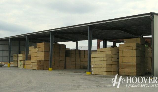 Coastal Treated Lumber Tan Siding