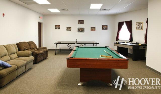 Fivepointville Ambulance Break Room