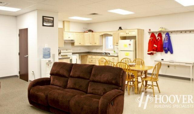 Fivepointville Ambulance Building Design