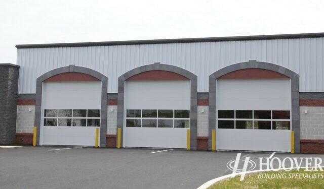 Fivepointville Ambulance Garage Doors