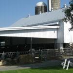 Frank Hoover Barn White Siding
