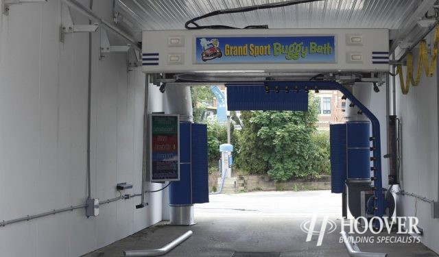 Grand Sport Car Wash Metal Building