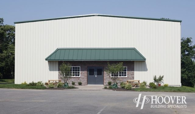 Greenview Bible Camp Metal Building