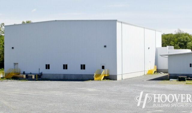 Hornings Warehouse White Siding
