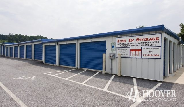 Just In Storage Metal Building
