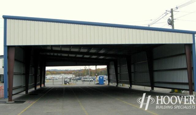 Manheim Auto Auction Metal Building