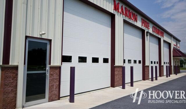 Marion Fire Company Maroon Trim