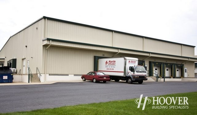 Martin Appliance Myerstown Metal Building