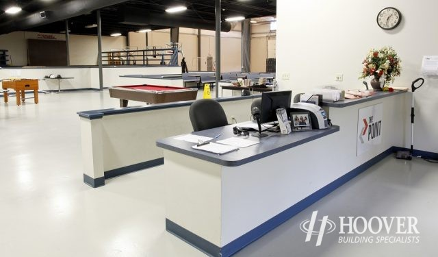 Parkesburg Point Front Desk