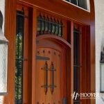 Private Residence Wooden Door
