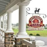 September Farm Cheese Shop Sign