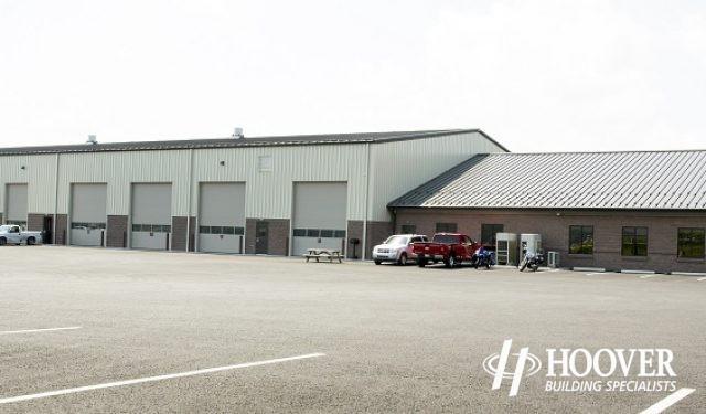 new storage facility build