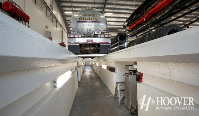 storage facility for trucks
