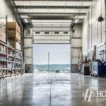 heavy machinery storage room