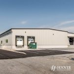 steel building with loading dock