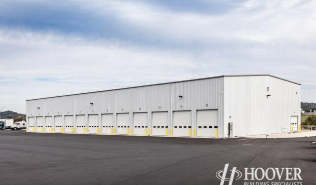 detached commercial garage