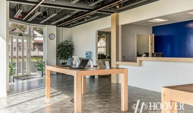 open office space builders