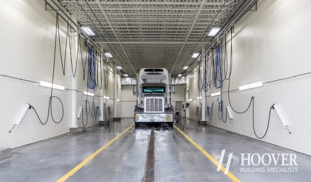 truck cleaning space