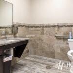 new office bathroom