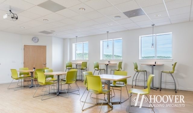 new office breakroom