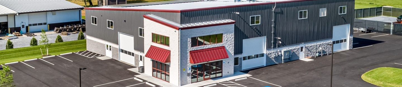 Tim's Body Shop Steel Building Project In Lititz, PA