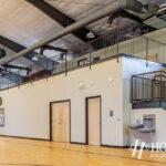 locker rooms in community center