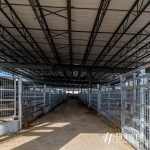 newly constructed metal stable in new holland