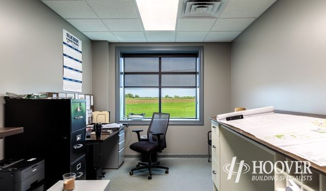 newly designed small office in lancaster county
