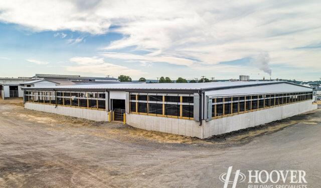 steel stable building